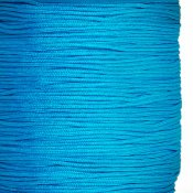 Chinese knotting cord, nylon, 0.8mm, dark turquoise