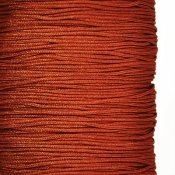 Chinese knotting cord, nylon, 0.8mm, reddish brown