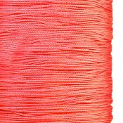 Chinese knotting cord, nylon, 0.8mm, coral pink