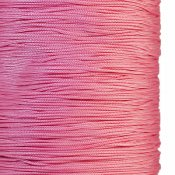 Chinese knotting cord, polyester, 1mm, pink