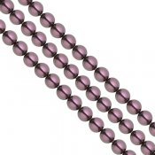 Swarovski Pearls, 3mm, burgundy, 20st