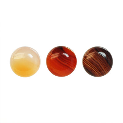 Cabochon, natural chalcedony, 10mm