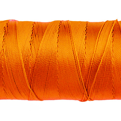 Knyt- och sytråd av nylon, 0.8mm, orange