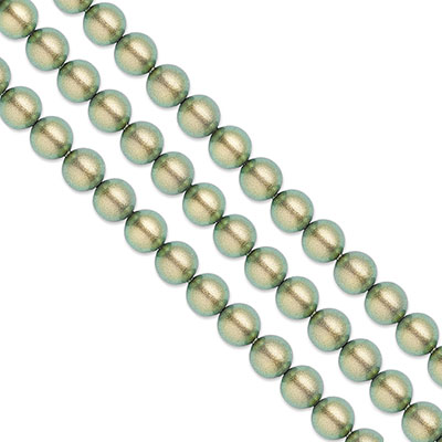 Swarovski Pearls, 3mm, iridescent green