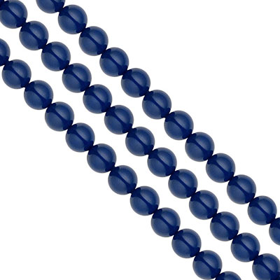 Swarovski Pearls, 4mm, dark lapis