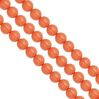 Swarovski Pearls, 6mm, coral